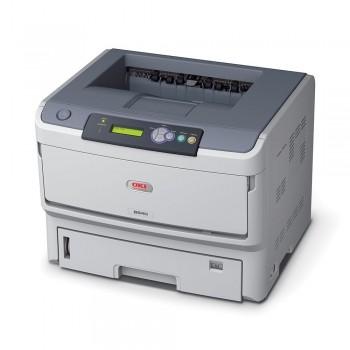 OKI B840dn Mono Printer B800 Series Duplex, Network LED Printer - 44676013