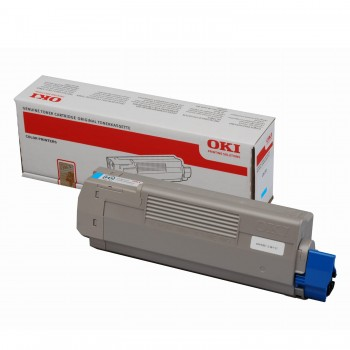 OKI C612 Cyan Toner 6K APSTNRFG - 46507511