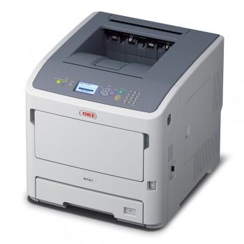 OKI B721dn A4 Mono Printer B700 Series Duplex, Network LED Printer - 45487002