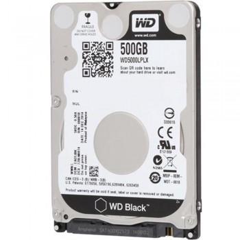 "WD 2.5"" Internal H.Disk Drive- NoteBook 500gb -Black"